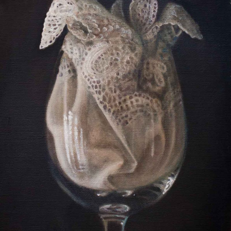 Sophie Ploeg Oil Painting Lace