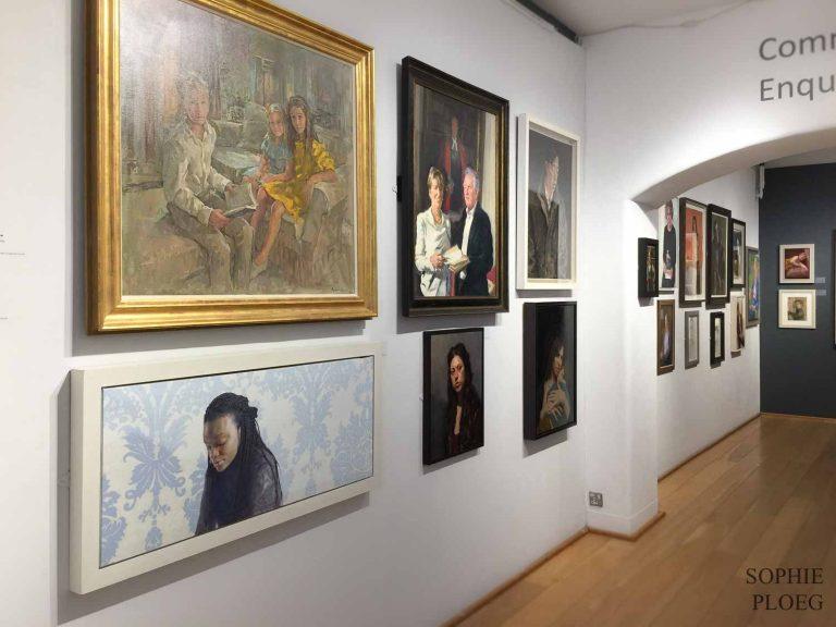 Sophie Ploeg Blog Royal Society of Portrait Painters 2018