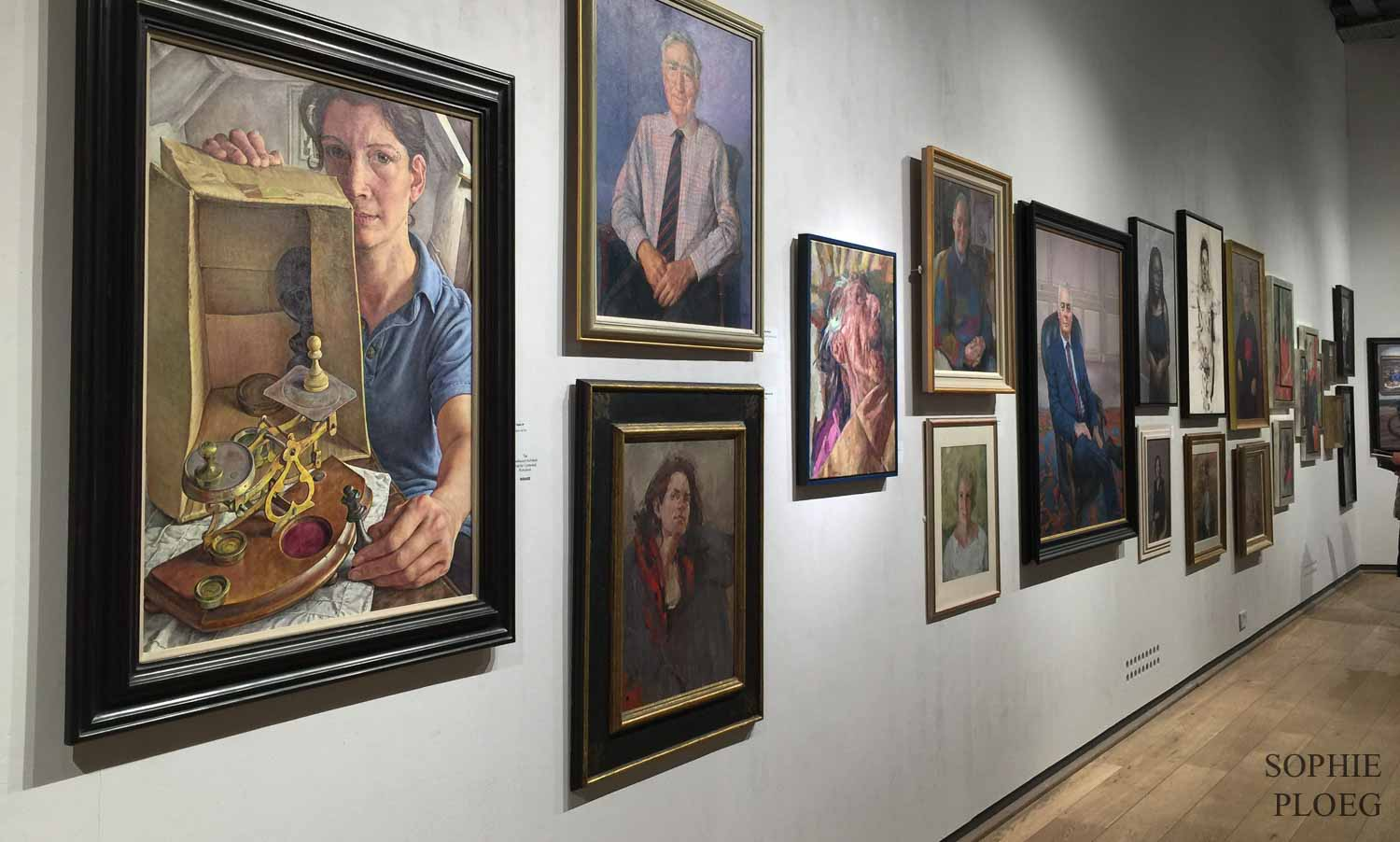 Royal Society of Portrait Painters, Mall Galleries, Sophie Ploeg