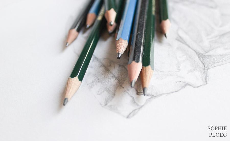 Sophie Ploeg Graphite Pencils