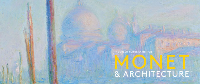 National Gallery Monet & Architecture