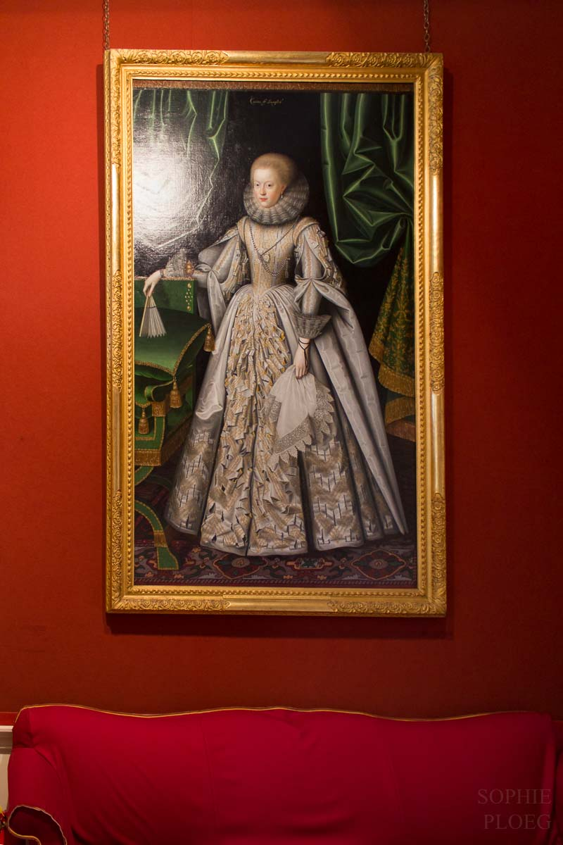 William Larkin Portrait of Anne Cecil - Sophie Ploeg Blog