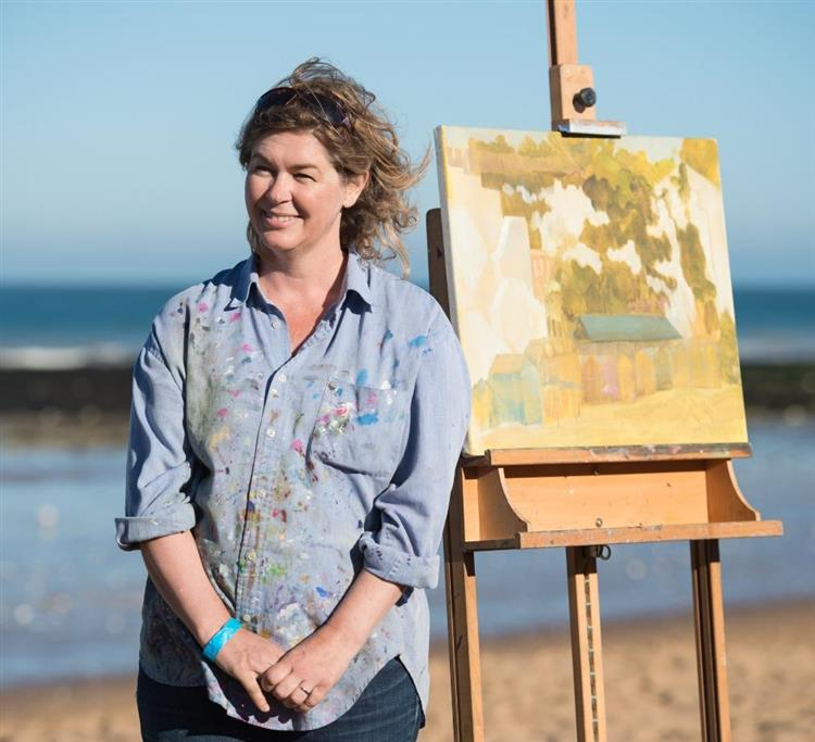 Jen Gash Landscape Artist of the year