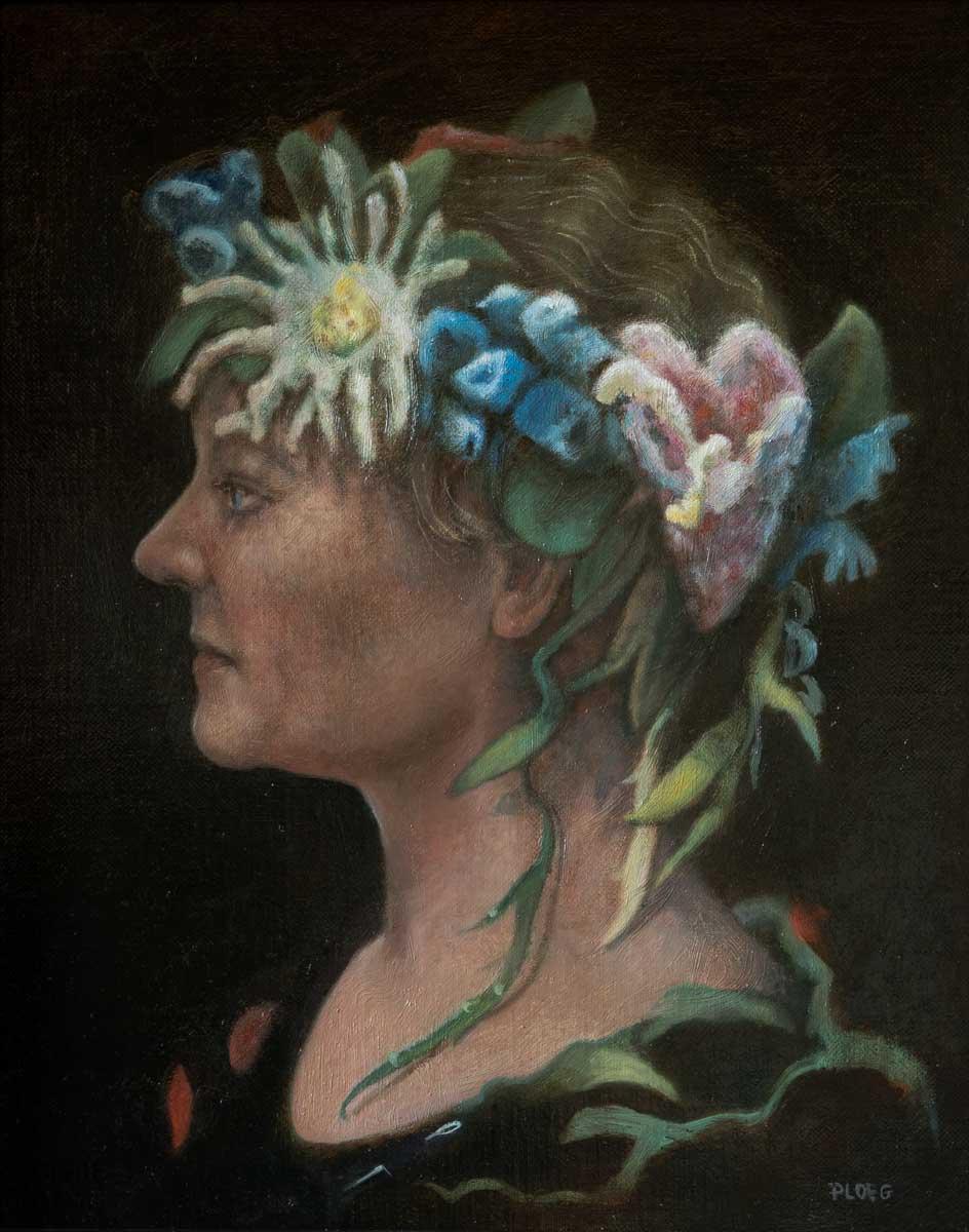 Sophie Ploeg, oil painting