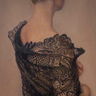 Sophie Ploeg Black Lace Shawl