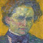 Alfred Wolmark by Alfred Wolmark oil on canvas laid on board, 1911. National Portrait Gallery London
