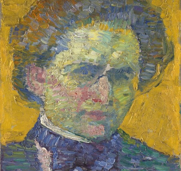 Alfred Wolmark by Alfred Wolmark oil on canvas laid on board, 1911. National Portrait Gallery London