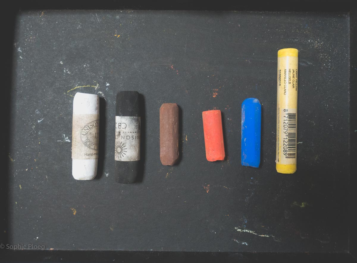 Sophie Ploeg Which colours do I need in Soft Pastel